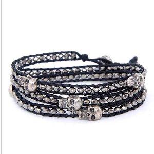 Jewelry - Skull wrap bracelet🎃💀